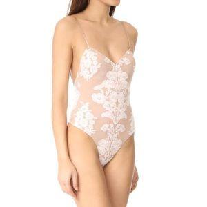 For Love and Lemons Temecula White Bodysuit
